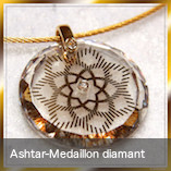 Ashtar-Medaillon diamant