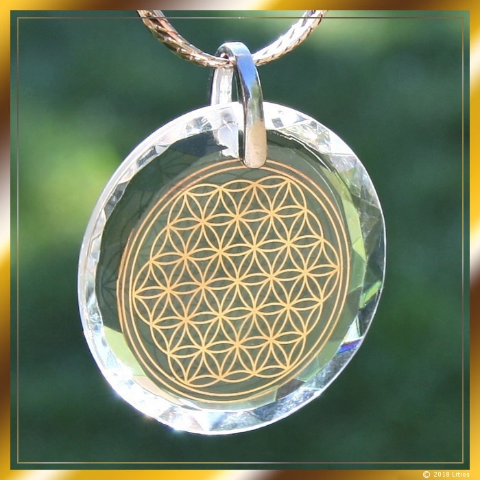 Flower of Life Pendant 01