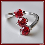 Diamond Ring red